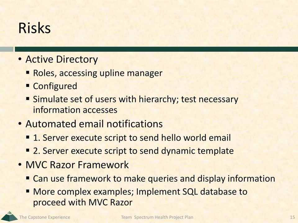 Server execute script to send dynamic template MVC Razor Framework Can use framework to make queries and display