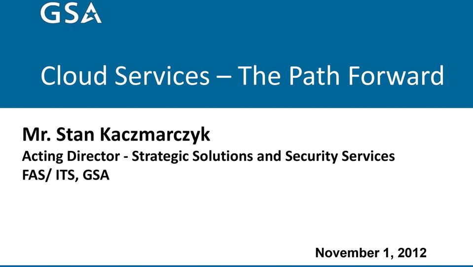 Strategic Solutions and Security