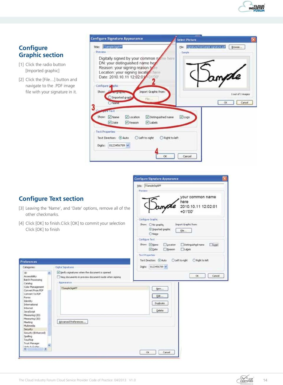 [2] Click the [File ] button and navigate to the.pdf image d Date options, checkmarks. file with your signature in it.