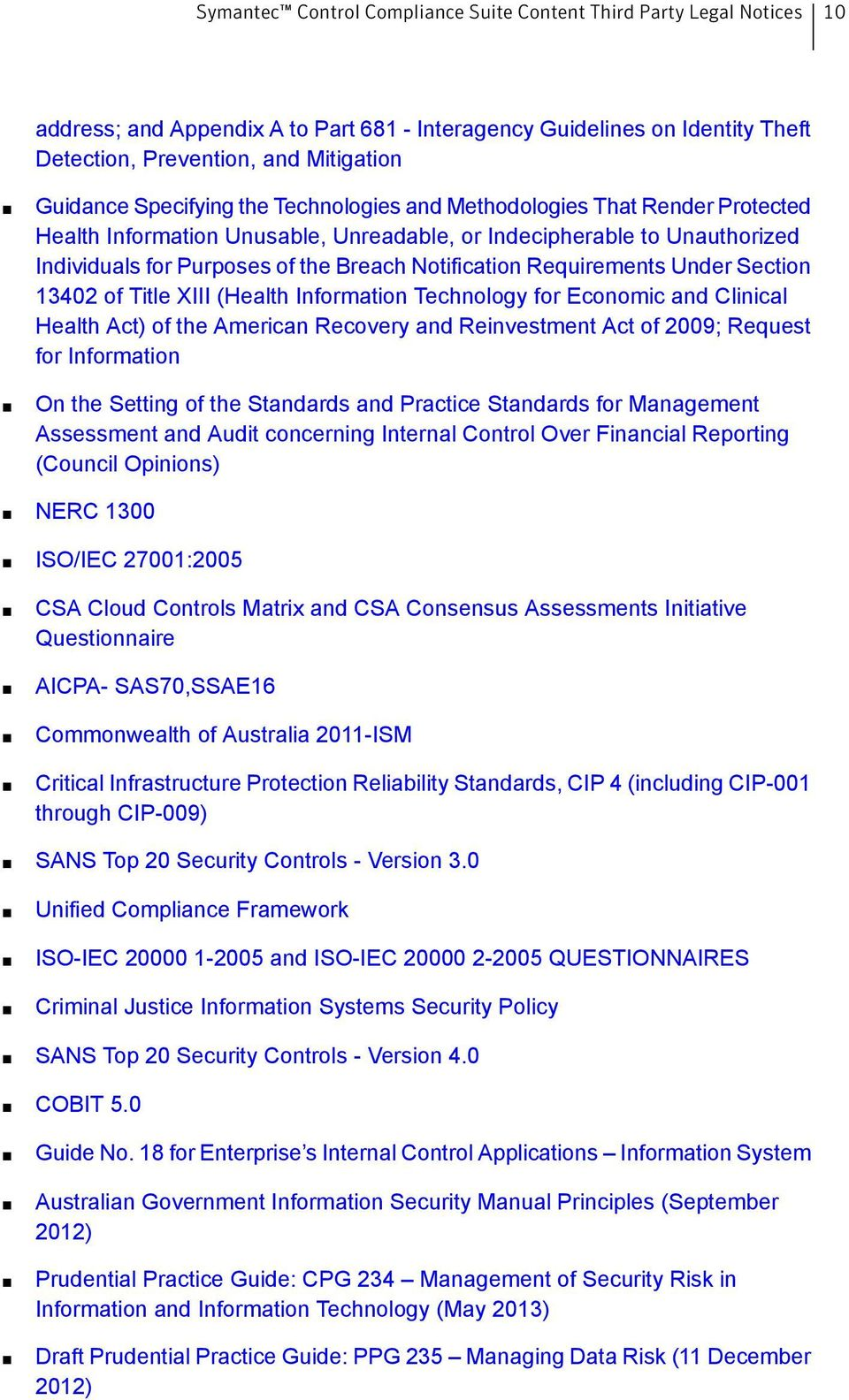 Technology for Economic and Clinical Health Act) of the American Recovery and Reinvestment Act of 2009; Request for Information On the Setting of the Standards and Practice Standards for Management