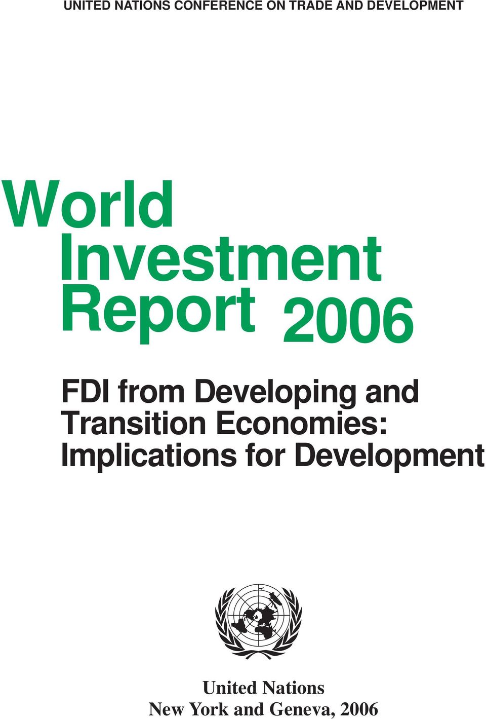 from Developing and Transition Economies: