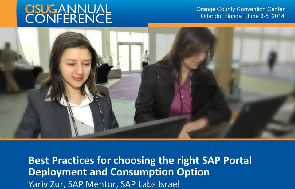 choosing the right SAP Portal Deployment and