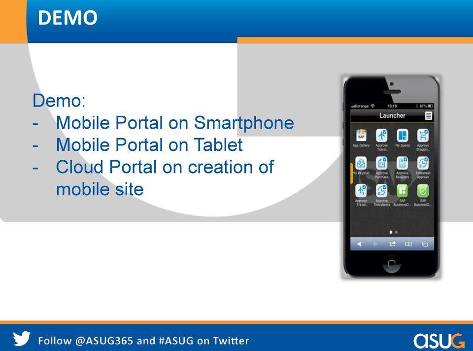 Portal on Tablet - Cloud