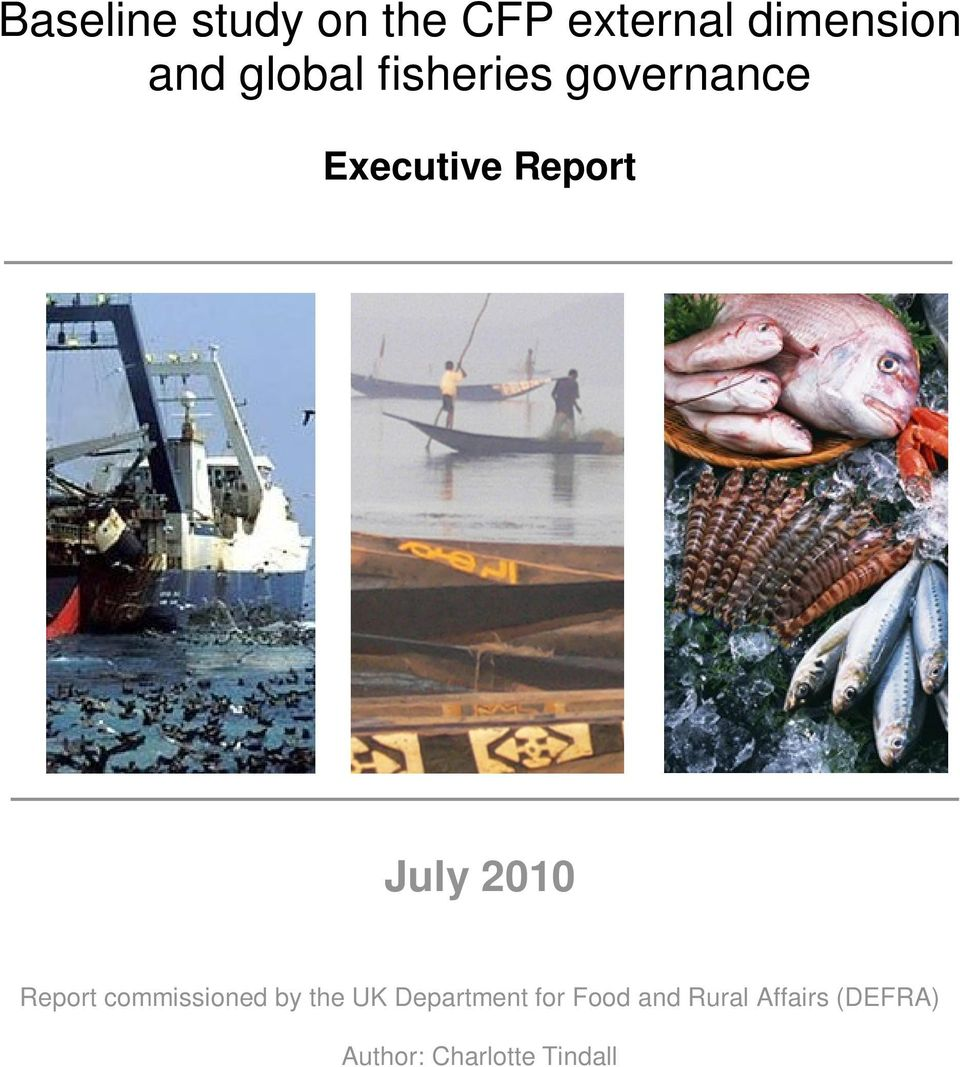 2010 Report commissioned by the UK Department for