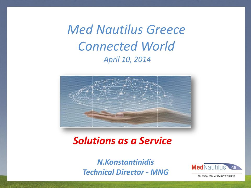 2014 Solutions as a Service