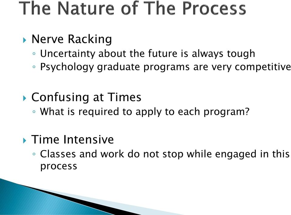 at Times What is required to apply to each program?