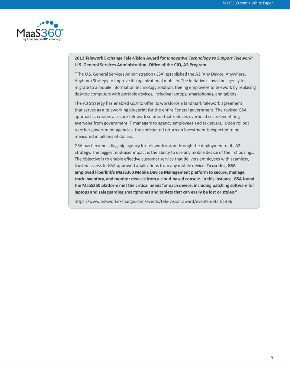 Addressing Nist And Dod Requirements For Mobile Device Management