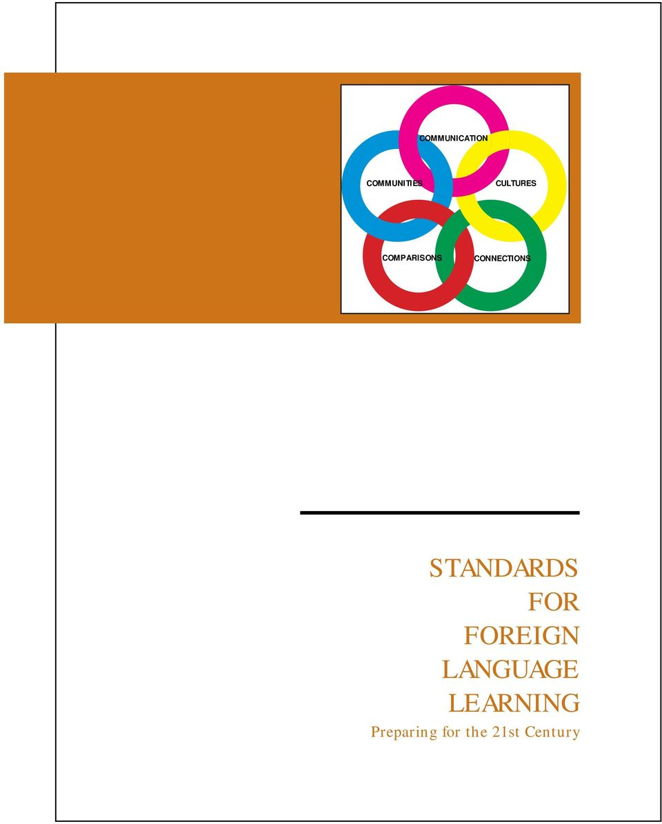 STANDARDS FOR FOREIGN LANGUAGE