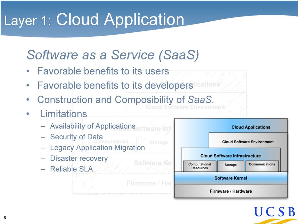 and Composibility of SaaS.