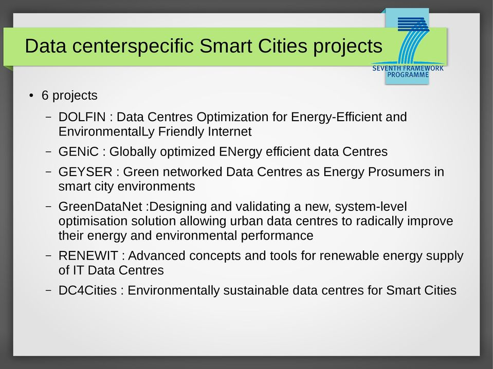 :Designing and validating a new, system-level optimisation solution allowing urban data centres to radically improve their energy and environmental