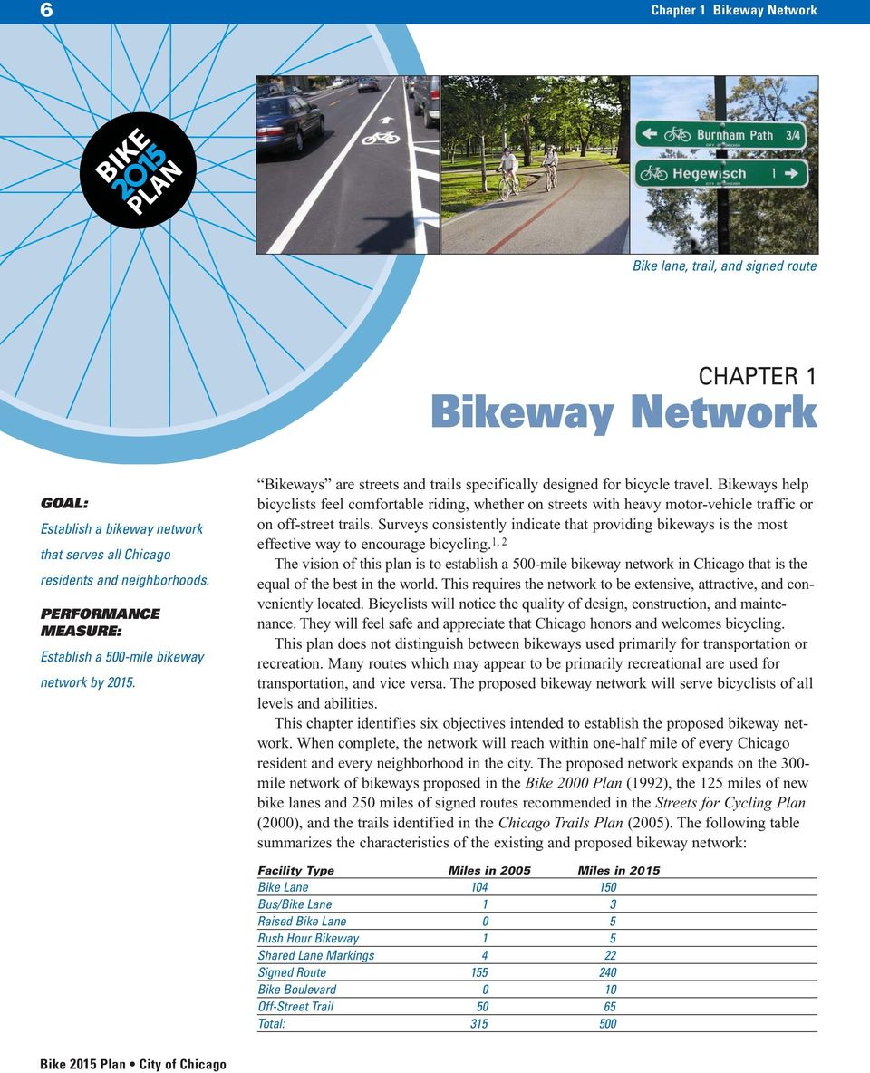 Bikeways help bicyclists feel comfortable riding, whether on streets with heavy motor-vehicle traffic or on off-street trails.