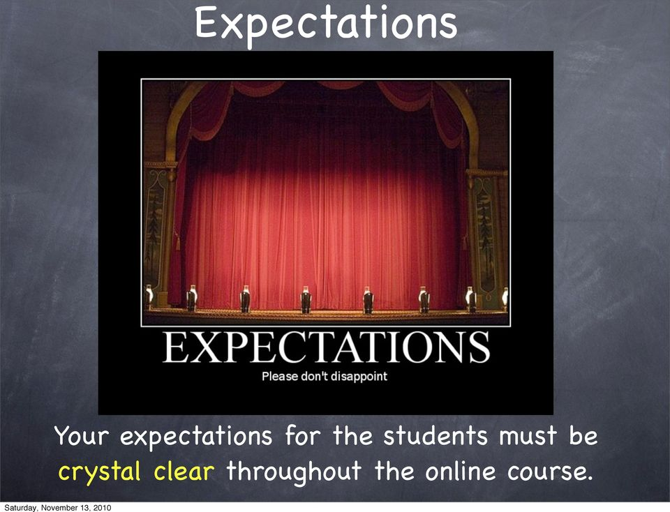 students must be crystal