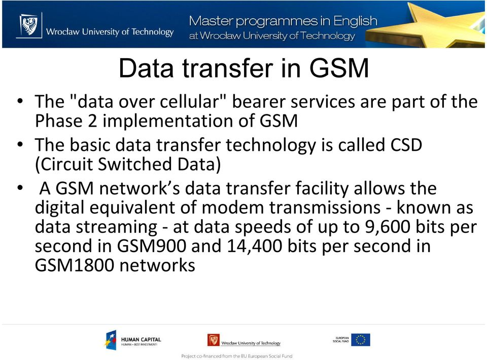 network s data transfer facility allows the digital equivalent of modem transmissions -known as