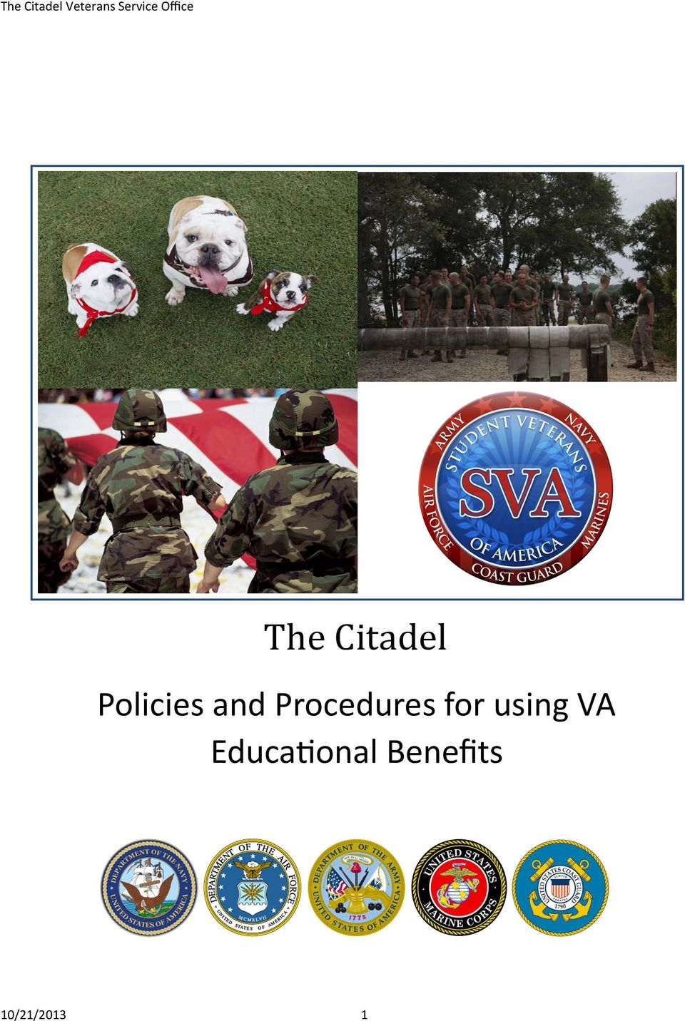 and Procedures for using VA