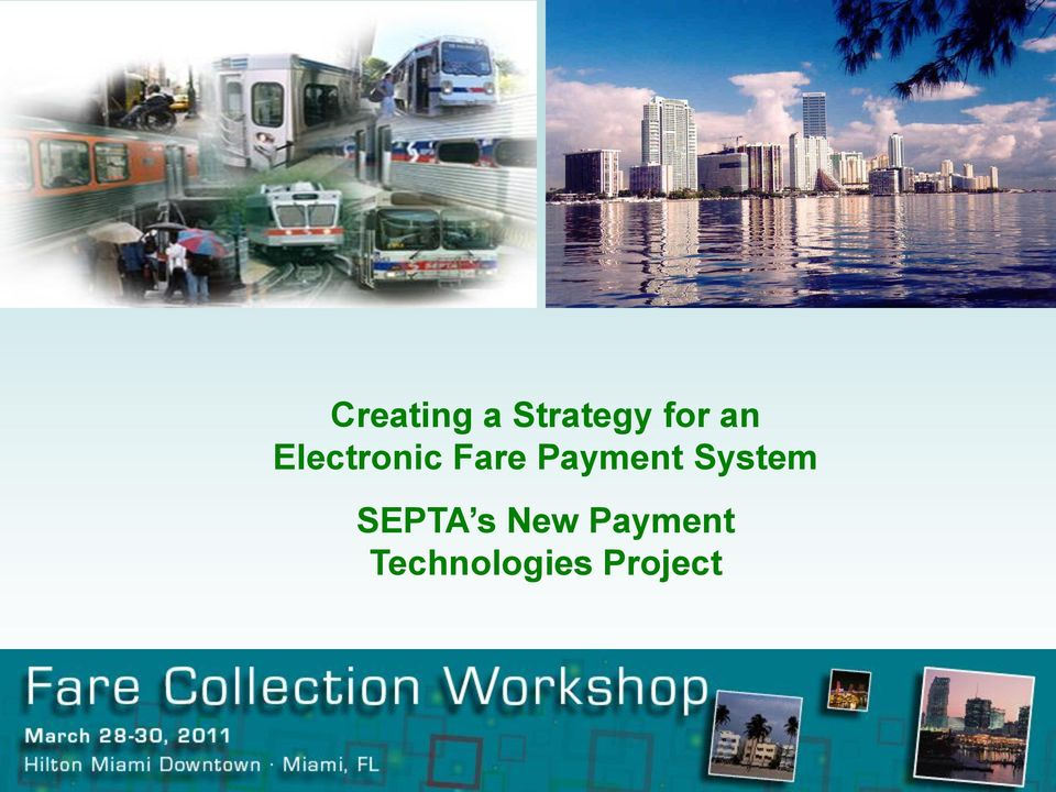 Payment System SEPTA s