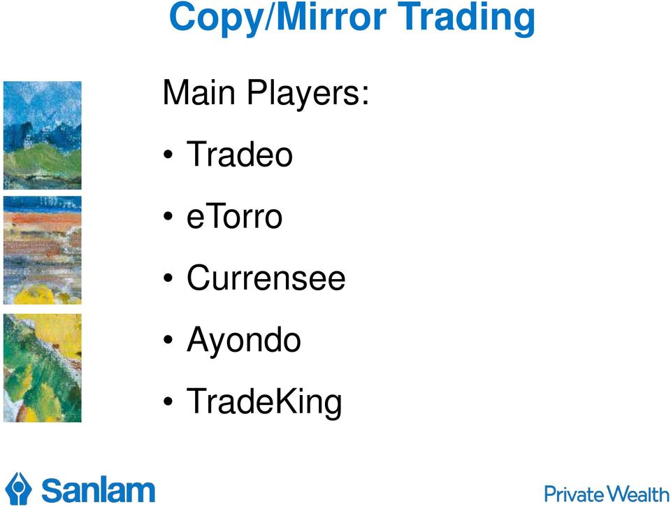 Players: Tradeo