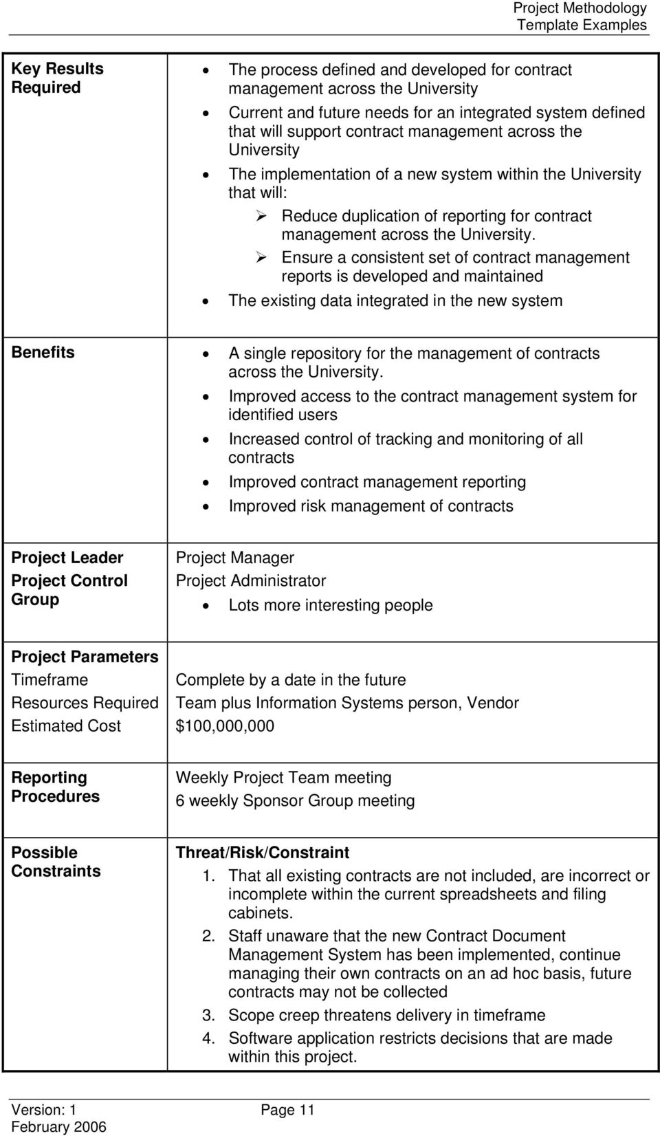 project management methodology template - projects office tari kaupapa project methodology template