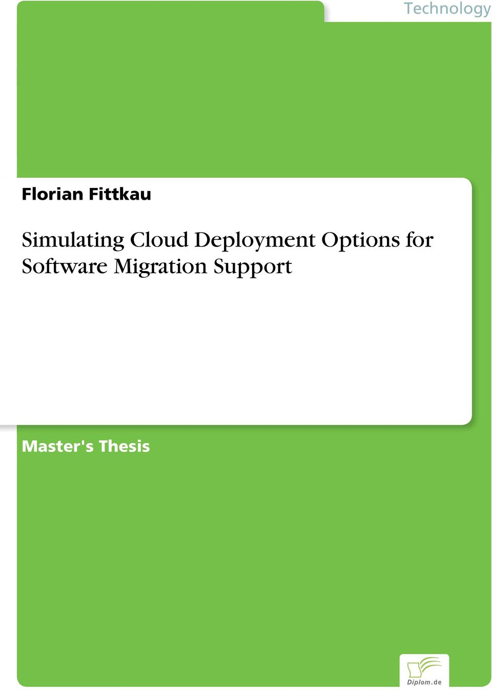 Options for Software