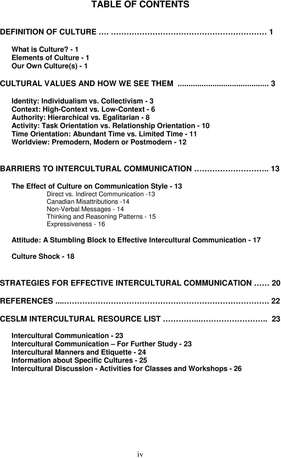 Intercultural Communication Handbook - PDF