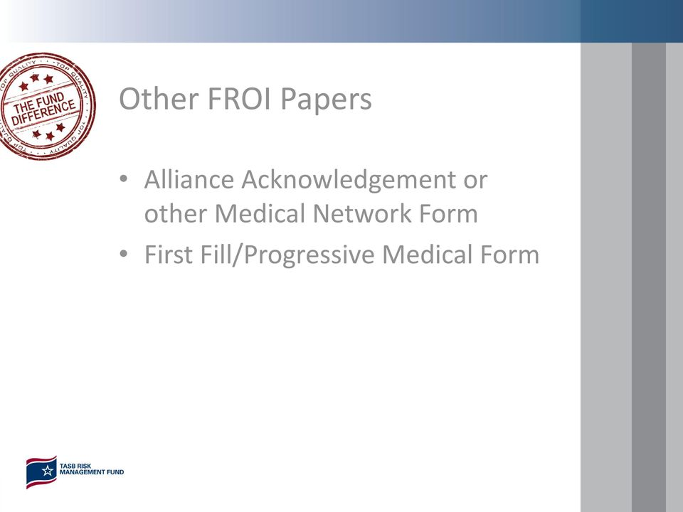 Medical Network Form First