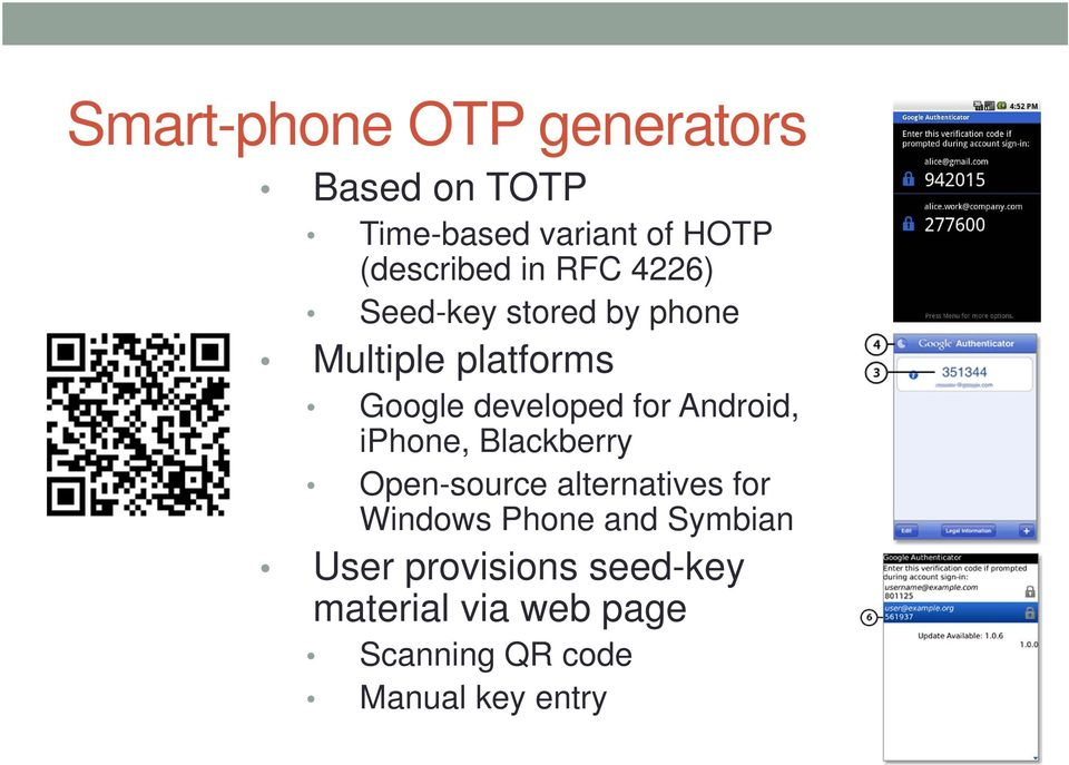 Android, iphone, Blackberry Open-source alternatives for Windows Phone and