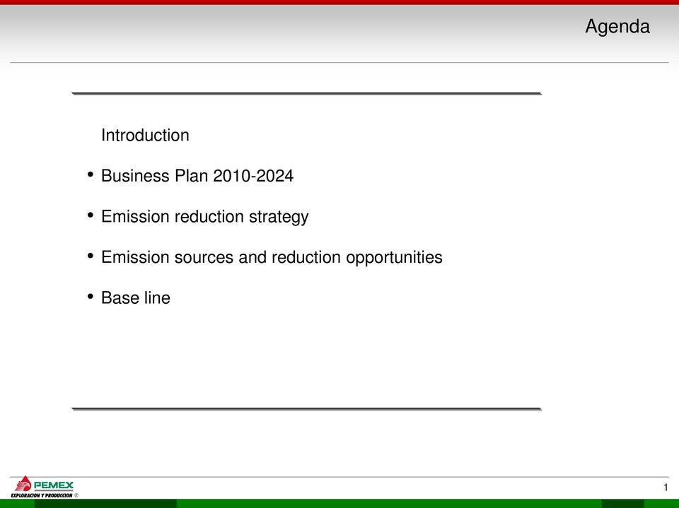 reduction strategy Emission