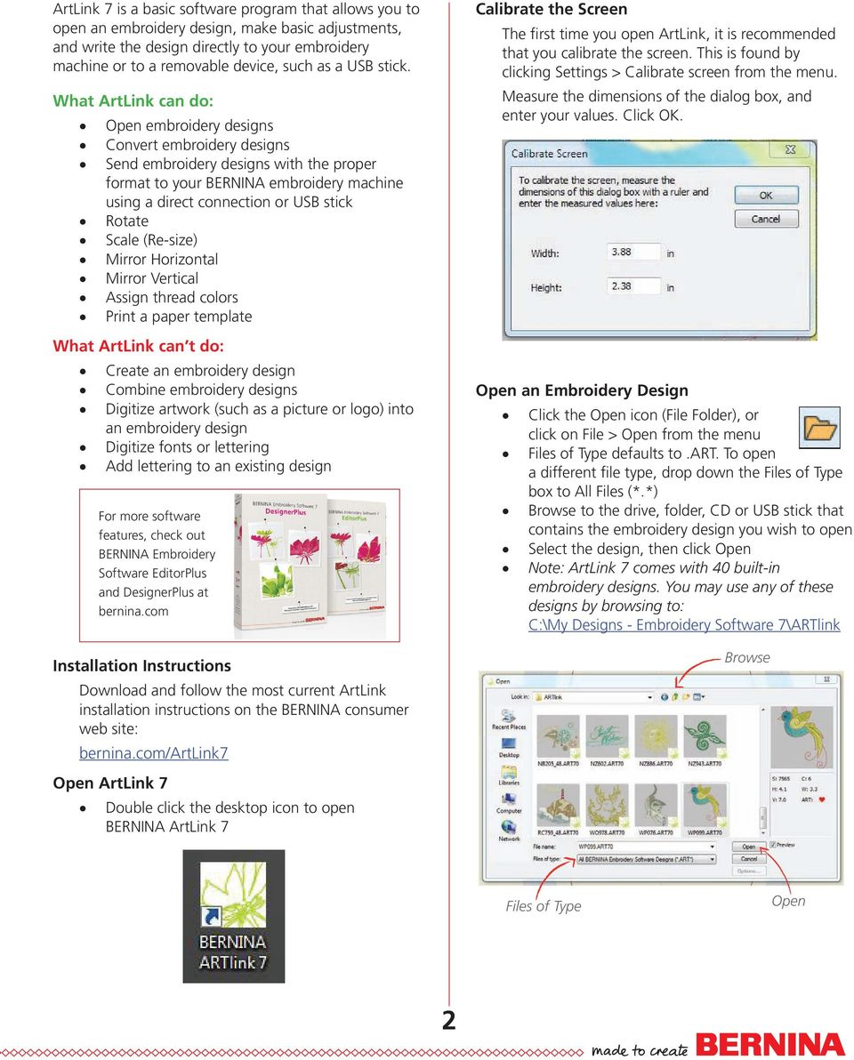 Artlink 7 Basics Ebook Just Embroider It Series Basic Features Open And View Designs Modify Designs Pdf Free Download