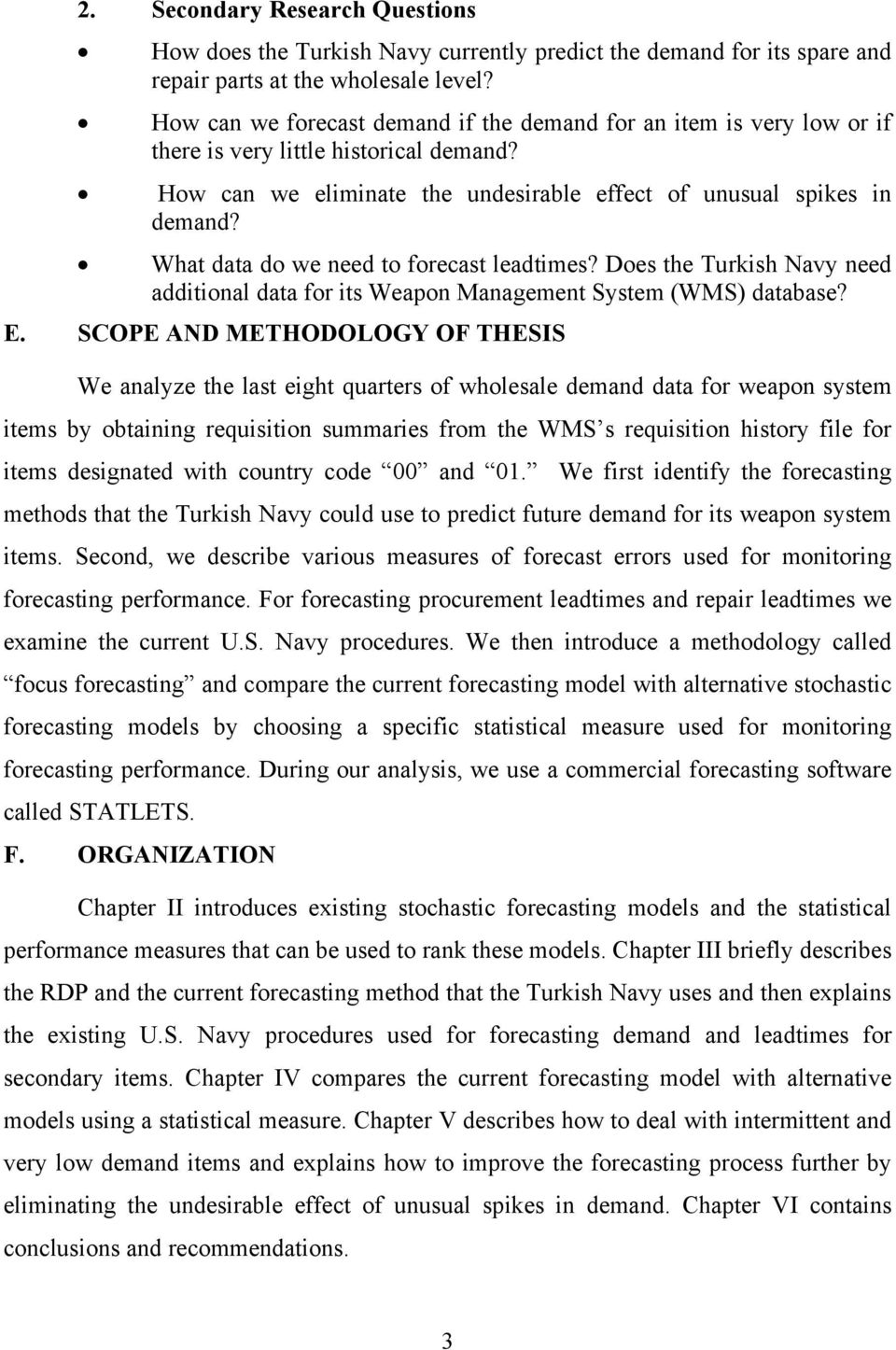What data do we need to forecast leadtimes? Does the Turkish Navy need additional data for its Weapon Management System (WMS) database? E.