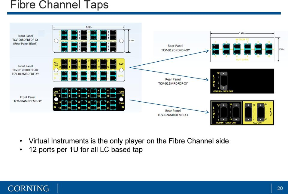 on the Fibre Channel side 12