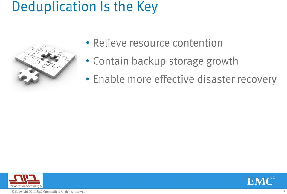 Contain backup storage growth