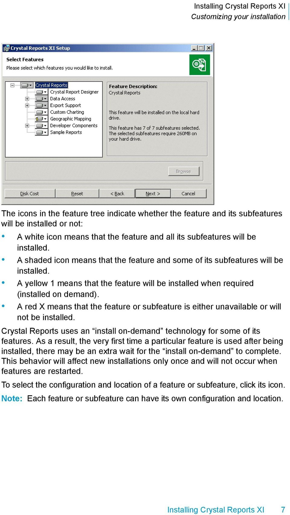 Installing Crystal Reports XI  Installing Crystal Reports XI