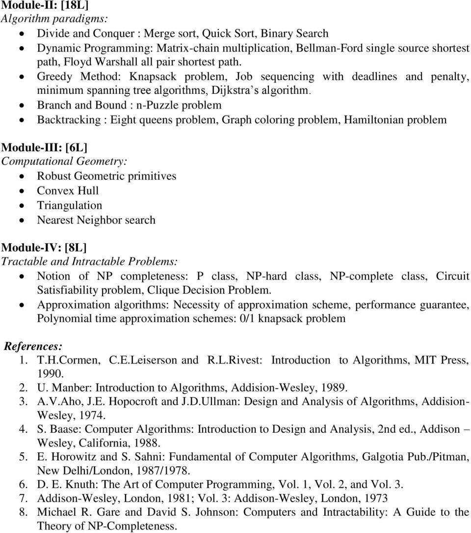 The Design And Analysis Of Computer Algorithms Ullman Pdf