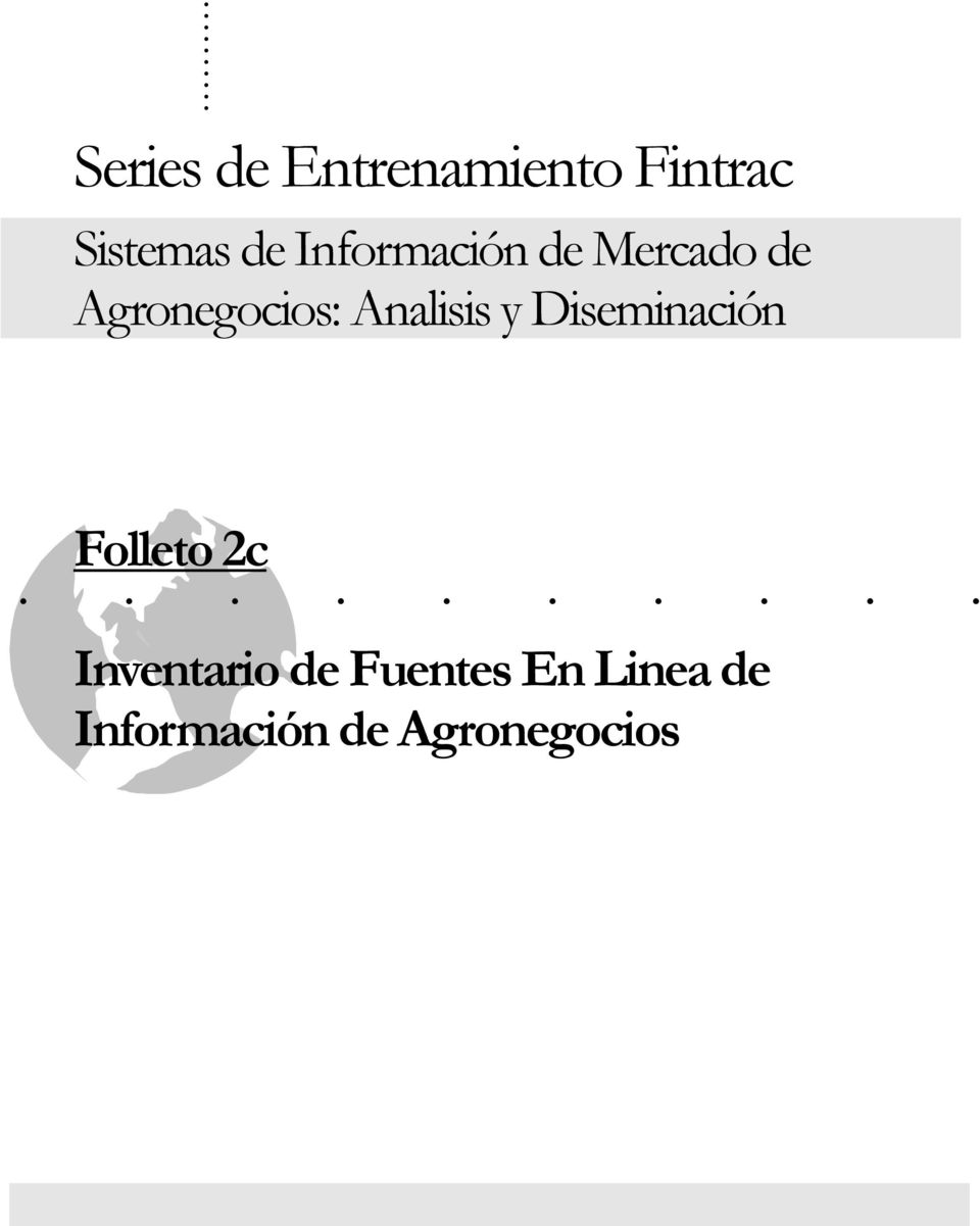Analisis y Diseminación Folleto 2c.
