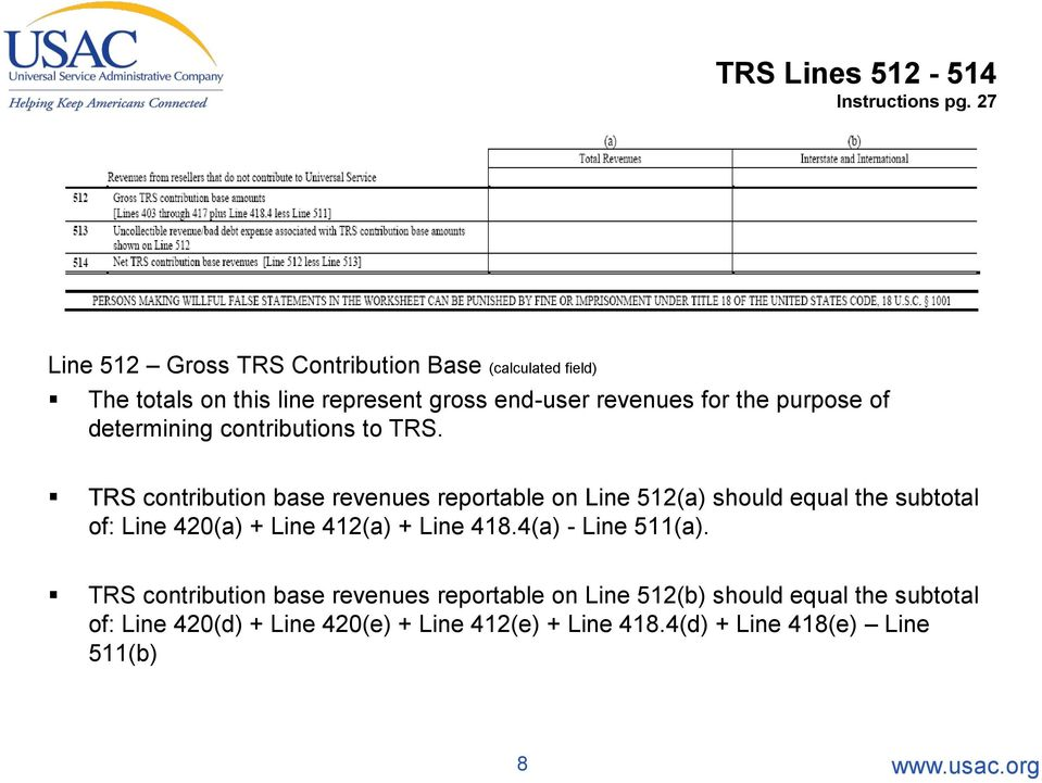 purpose of determining contributions to TRS.