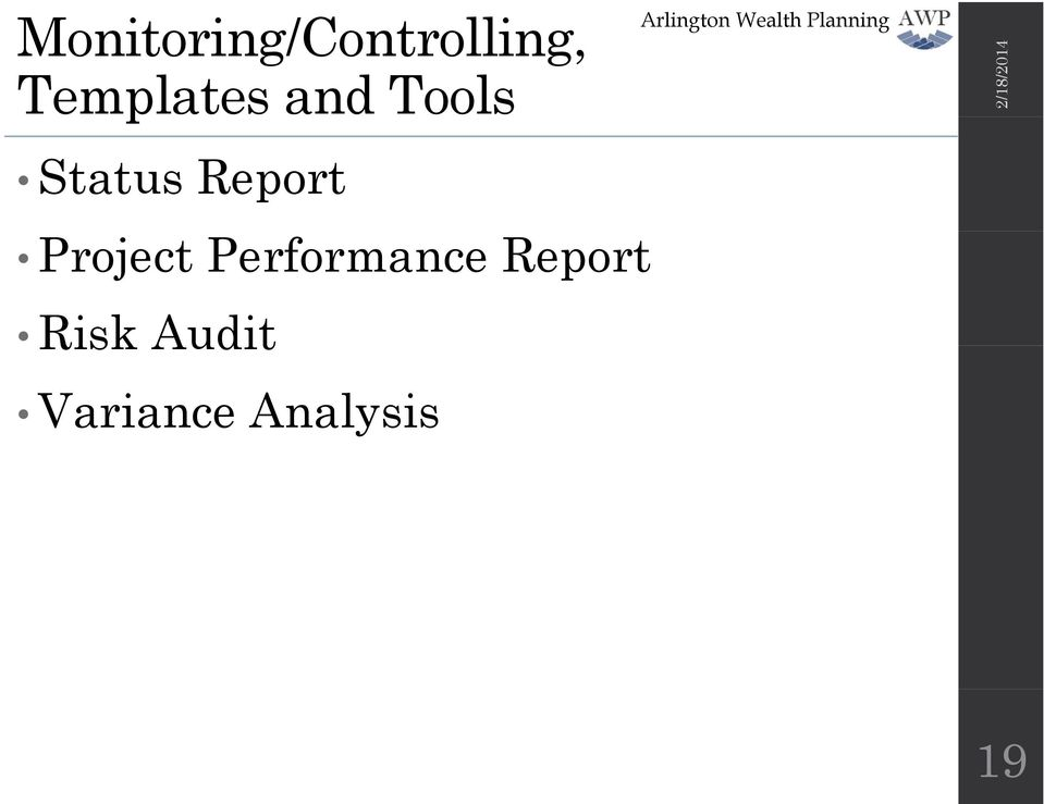 Performance Report Risk Audit