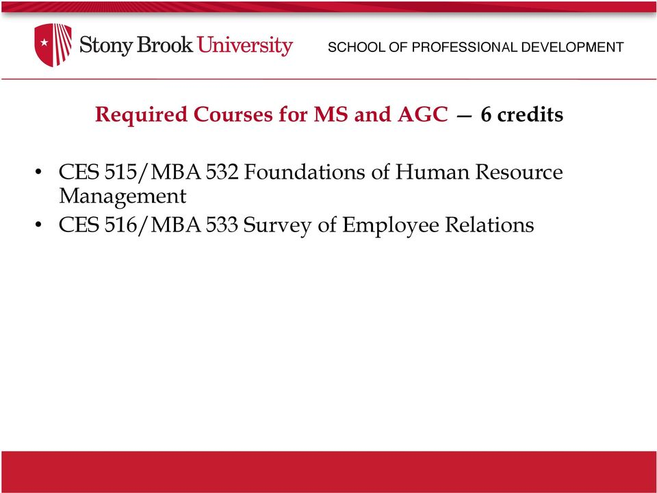 532 Foundations of Human Resource Management