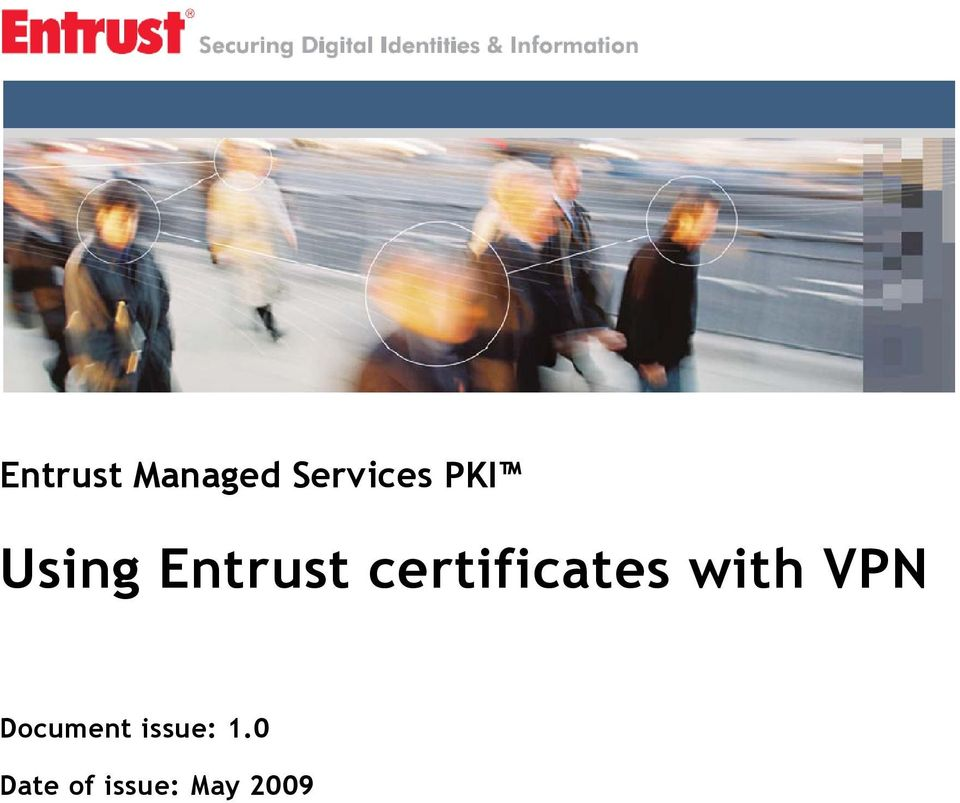 certificates with VPN