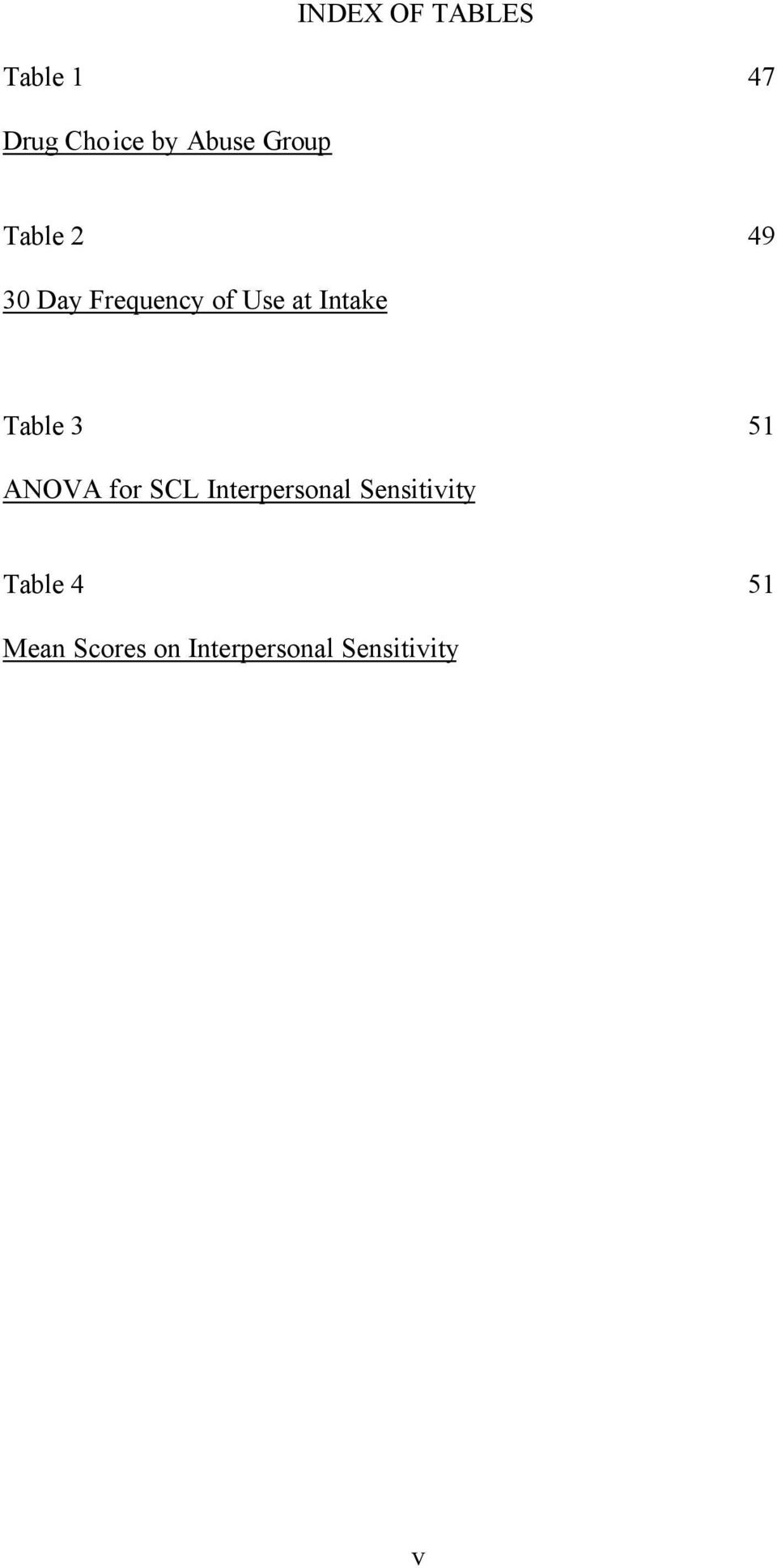 Table 3 51 ANOVA for SCL Interpersonal Sensitivity