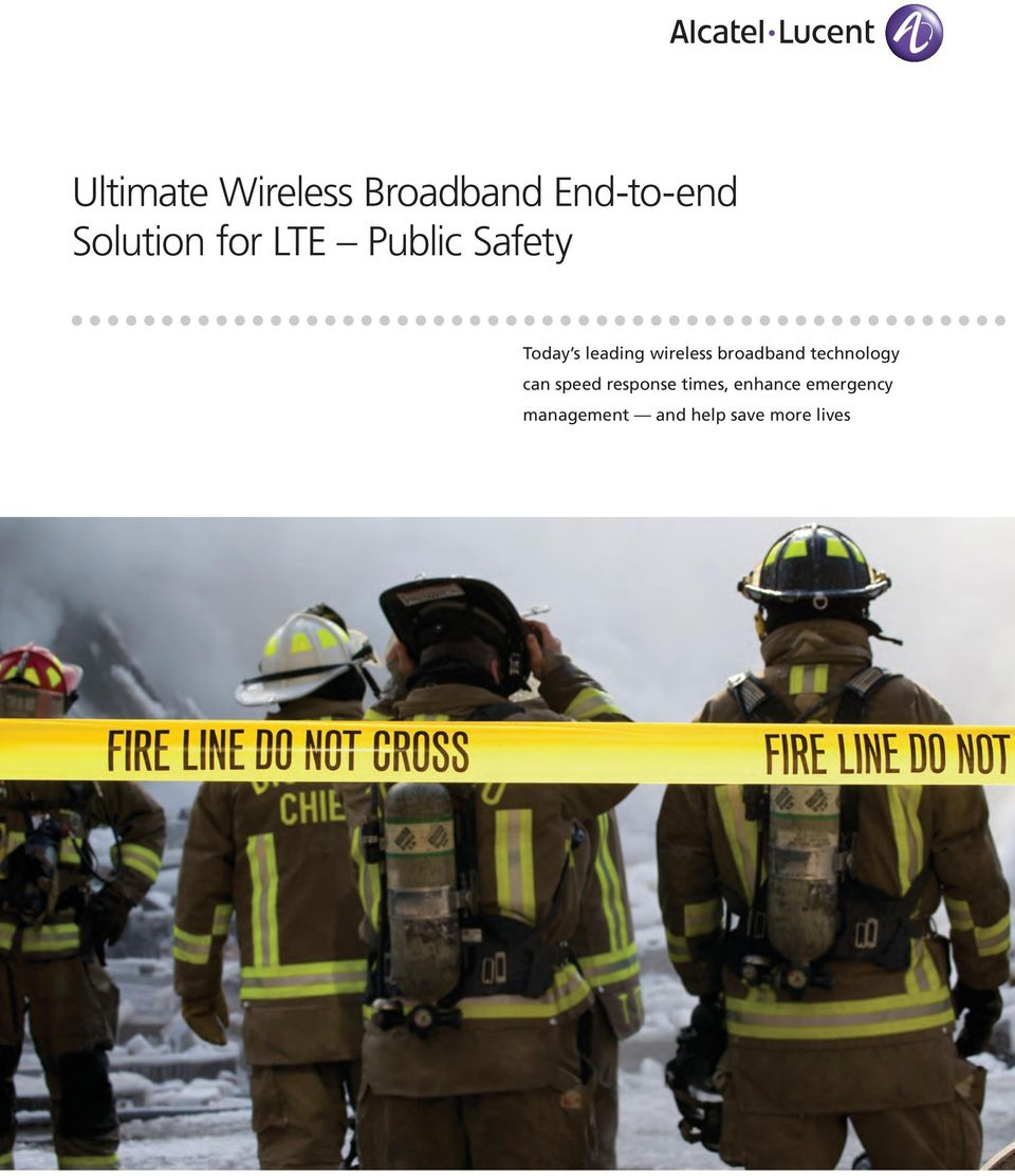 broadband technology can speed response times,