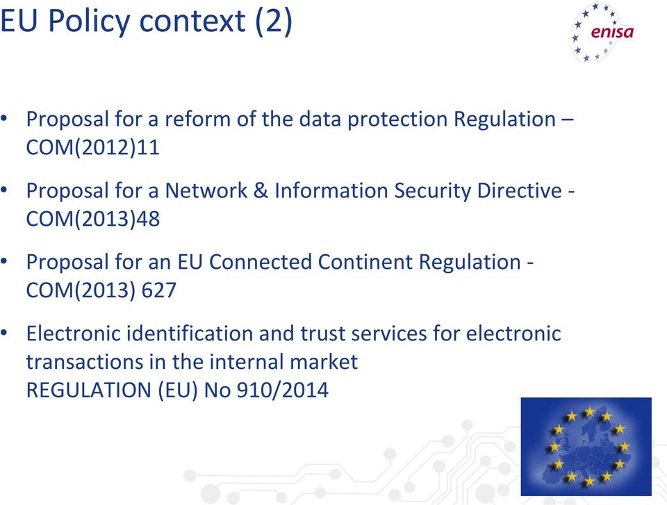 Proposal for an EU Connected Continent Regulation - COM(2013) 627 Electronic
