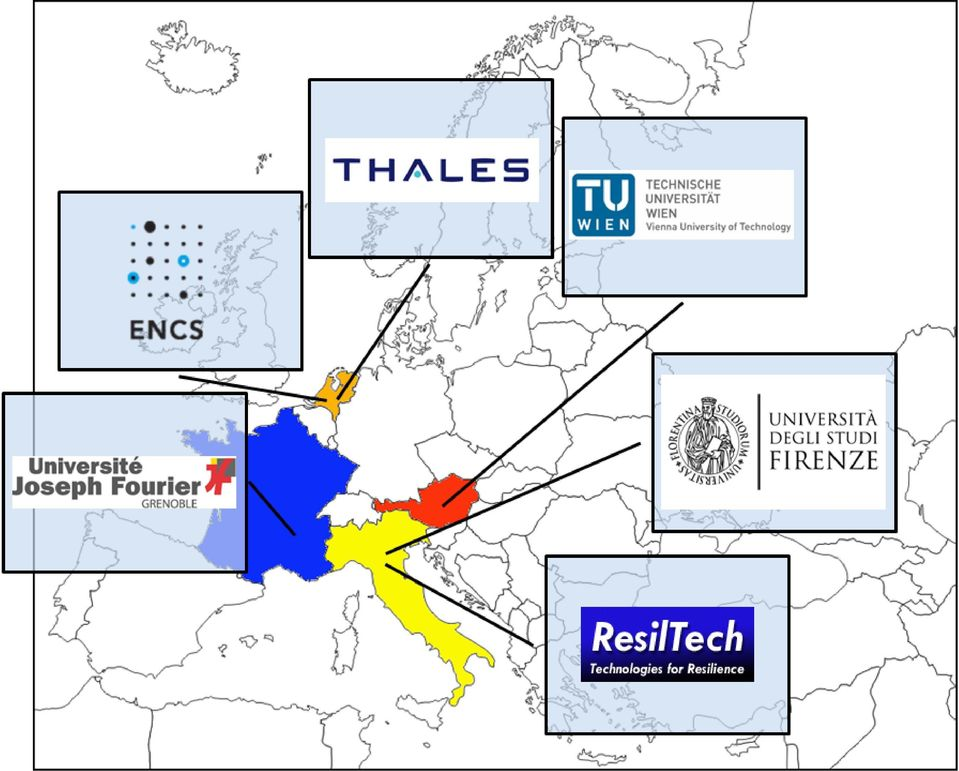 Austria 3 University of Grenoble France 4 ResilTech Italy 5 Thales