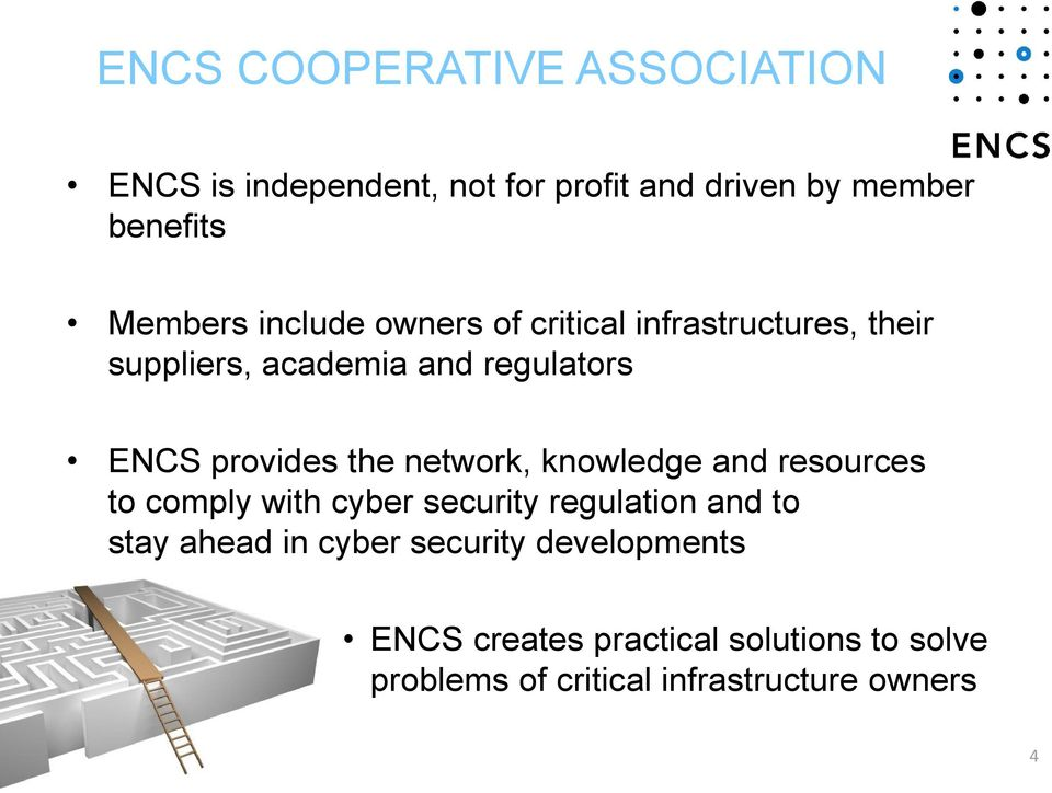 network, knowledge and resources to comply with cyber security regulation and to stay ahead in cyber
