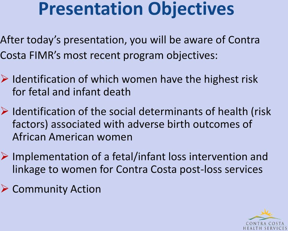social determinants of health (risk factors) associated with adverse birth outcomes of African American women