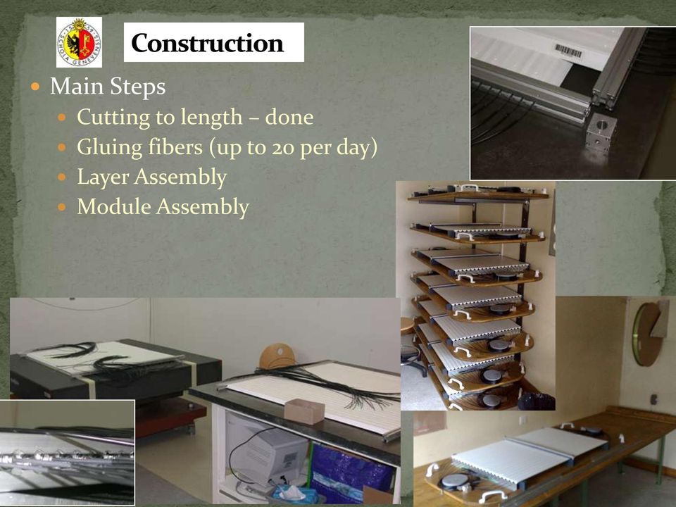 per day) Layer Assembly Module