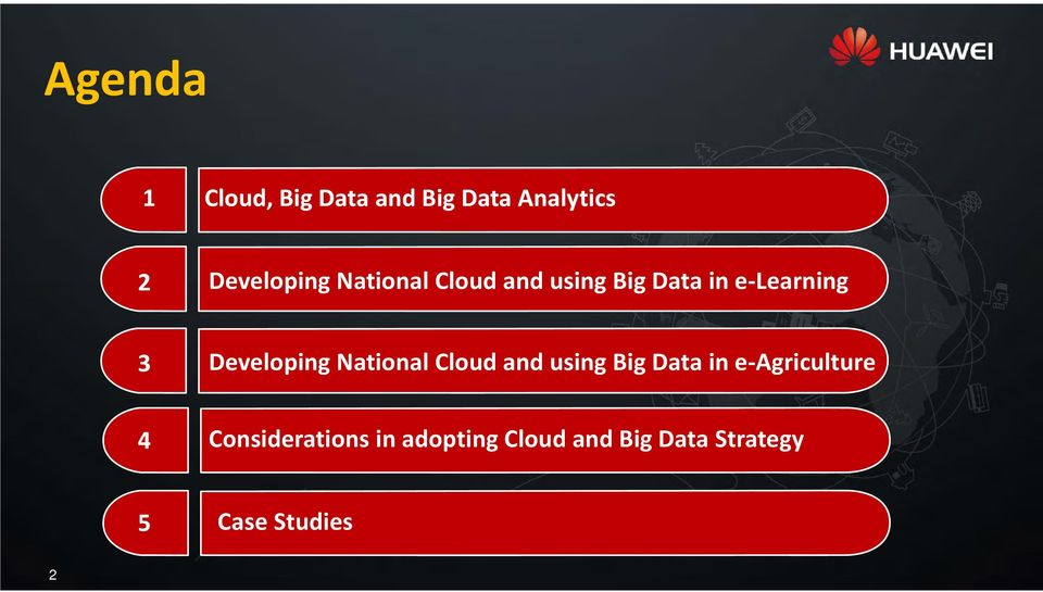 National Cloud and using Big Data in e Agriculture 4
