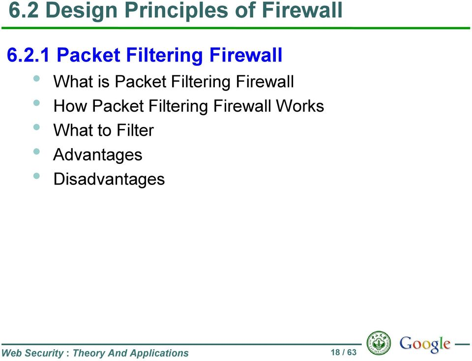 How Packet Filtering Firewall Works What to Filter