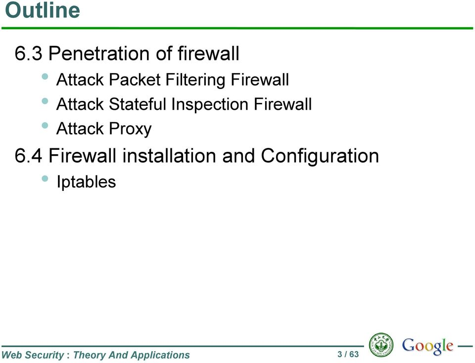 Firewall Attack Stateful Inspection Firewall Attack