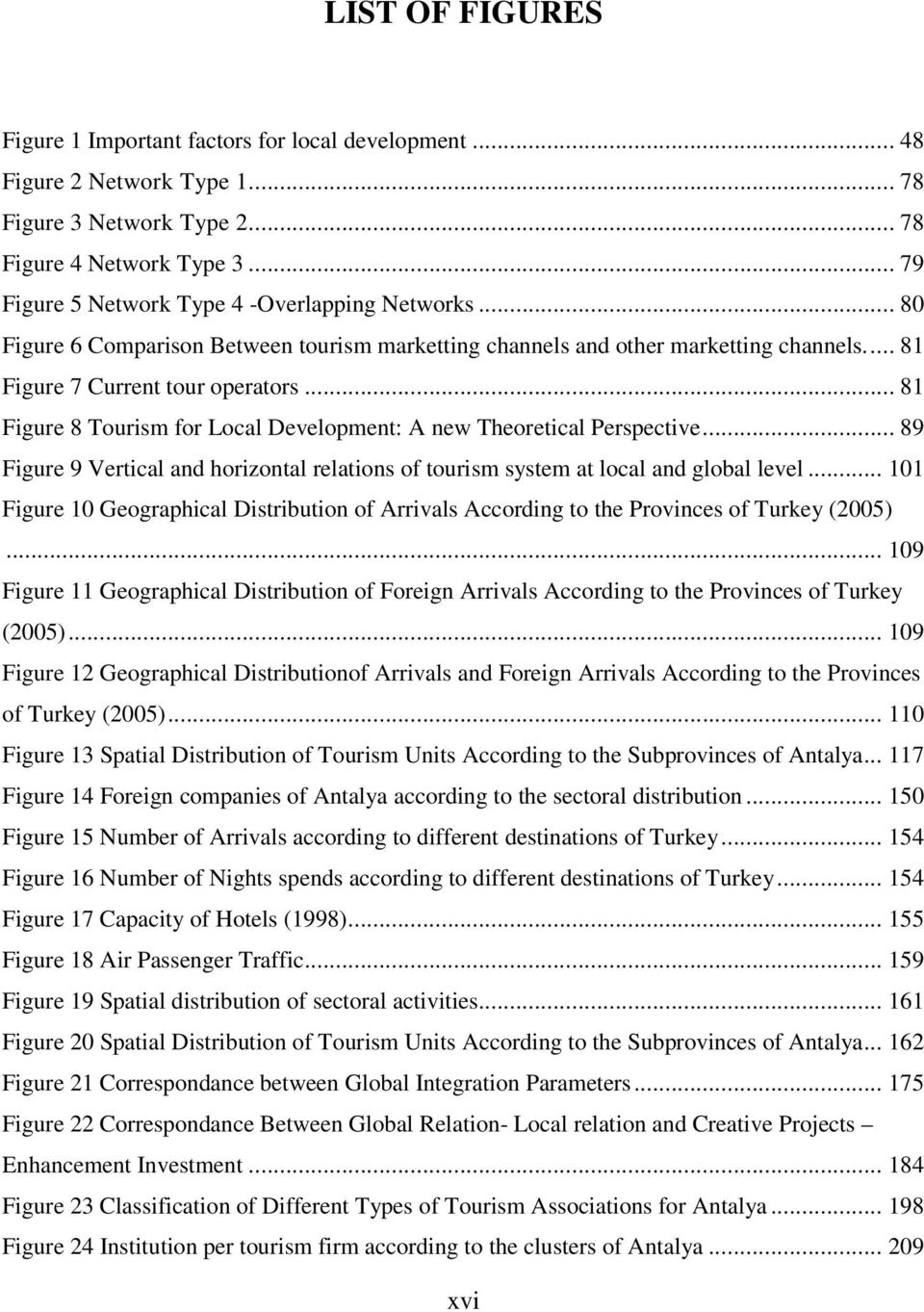 .. 81 Figure 8 Tourism for Local Development: A new Theoretical Perspective... 89 Figure 9 Vertical and horizontal relations of tourism system at local and global level.