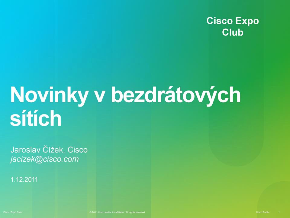 jacizek@cisco.com 1.12.