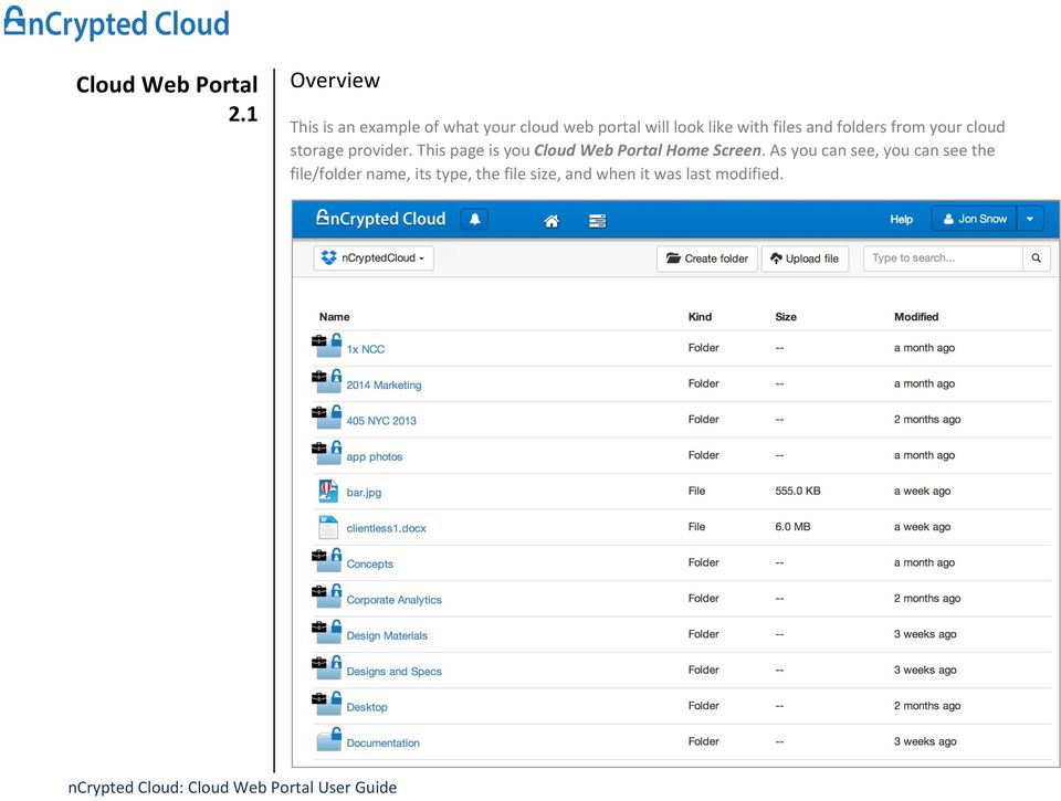 and folders from your cloud storage provider.